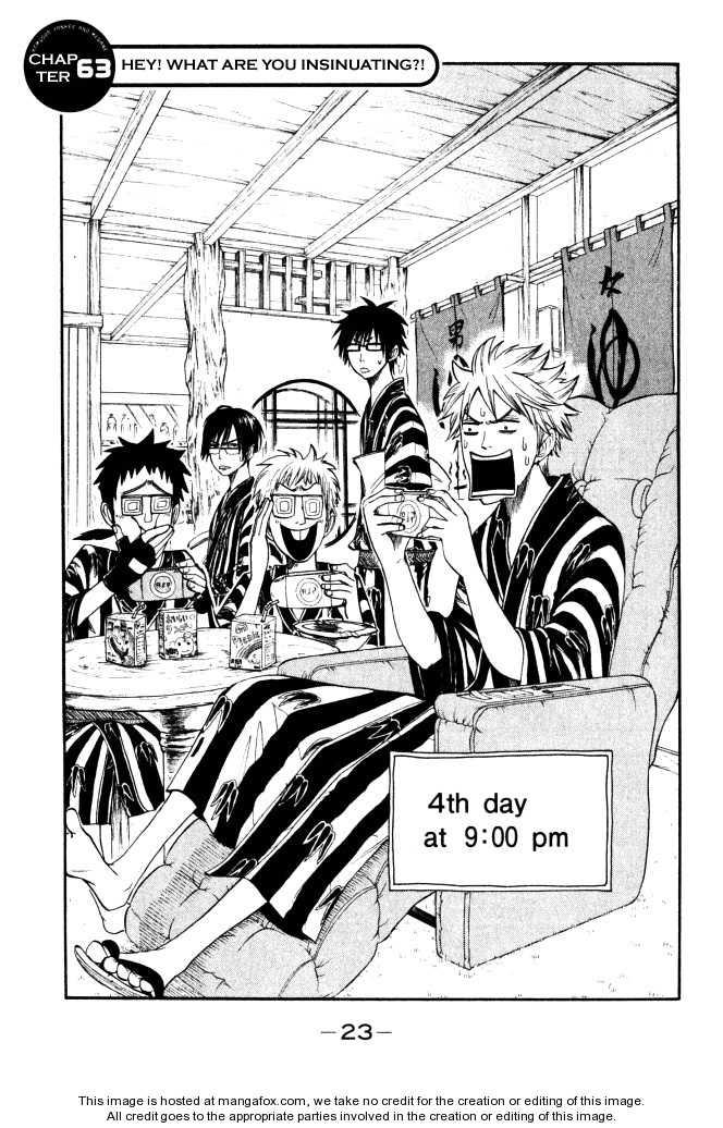 Yankee-kun to Megane-chan 63 Page 1
