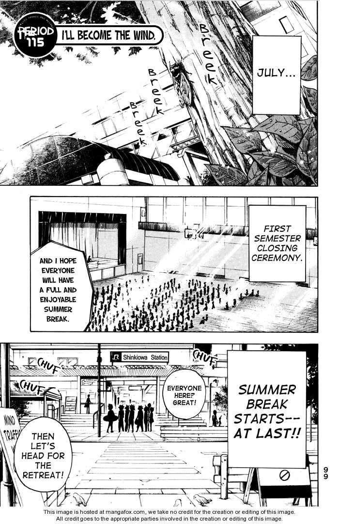 Yankee-kun to Megane-chan 115 Page 1