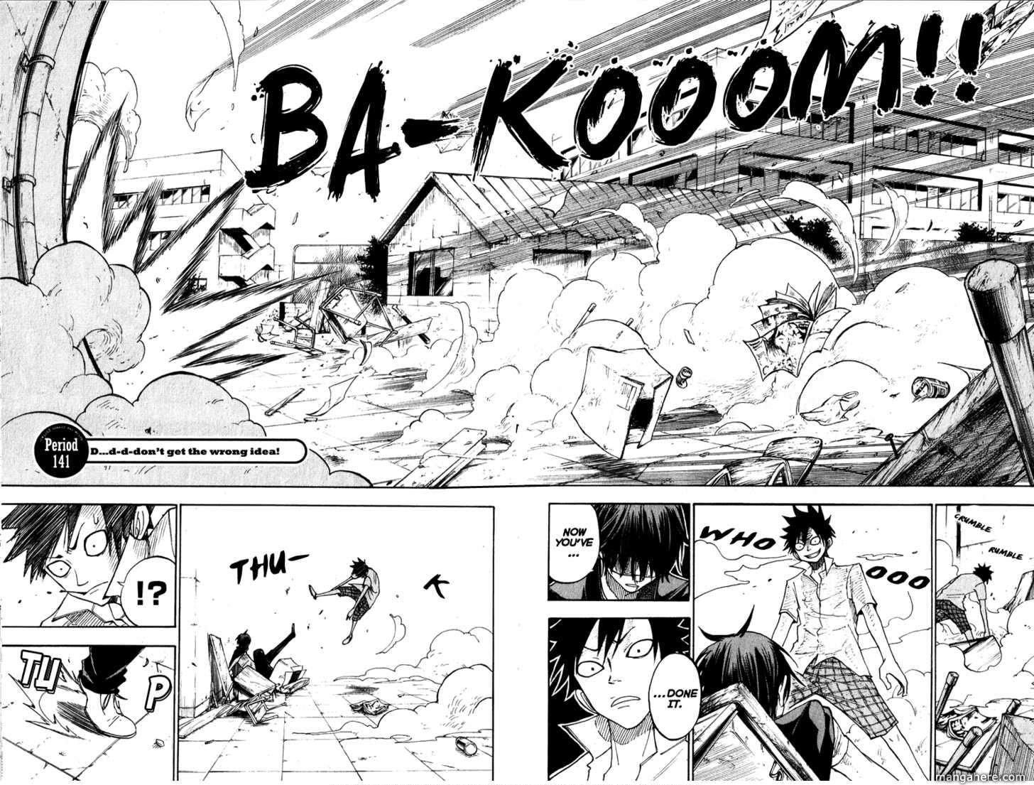 Yankee-kun to Megane-chan 141 Page 2