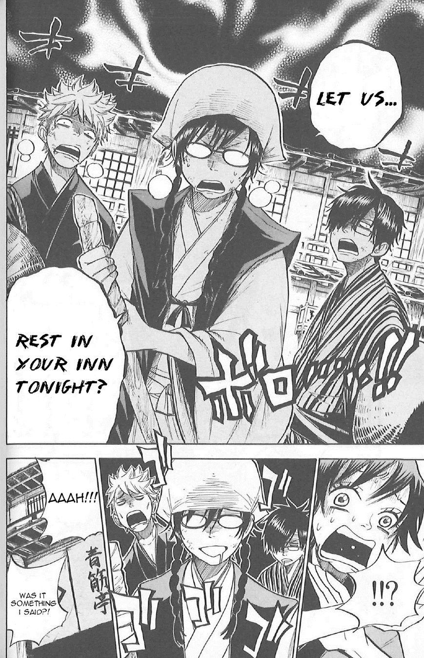 Yankee-kun to Megane-chan 184.5 Page 2