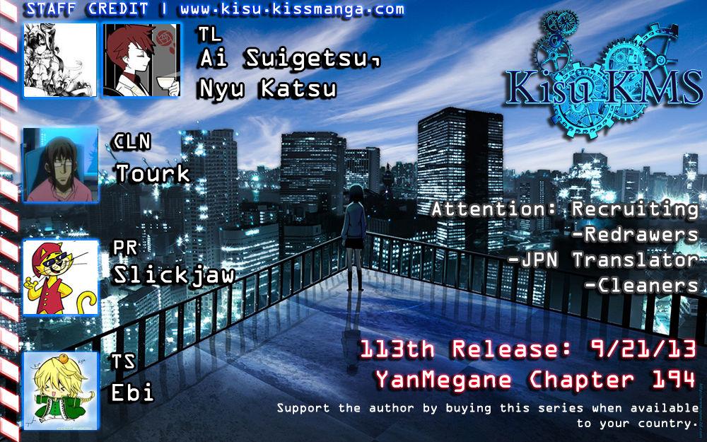 Yankee-kun to Megane-chan 194 Page 1