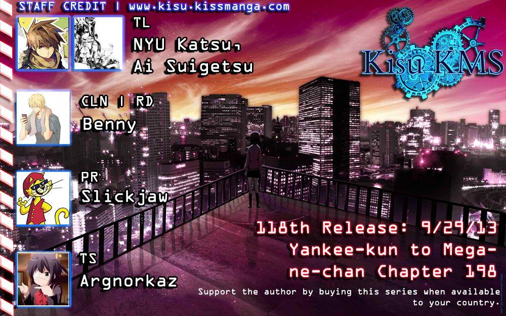 Yankee-kun to Megane-chan 198 Page 2
