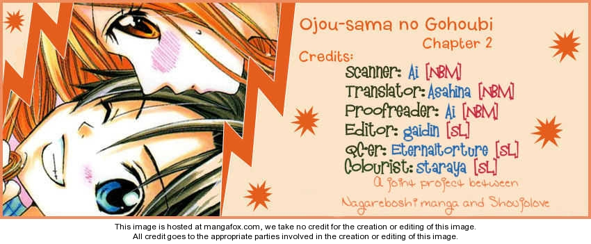 Ojousama no Gohoubi 3 Page 1