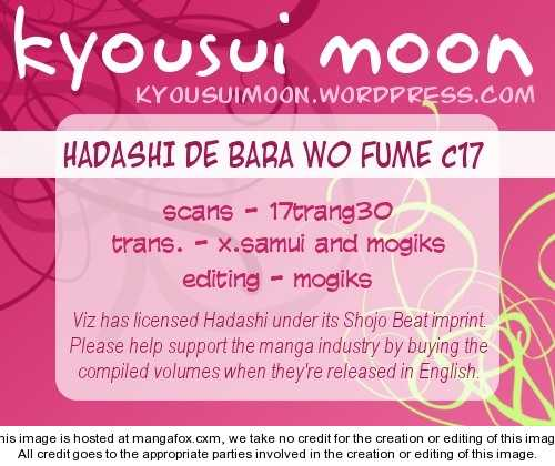 Hadashi de Bara wo Fume 17 Page 1