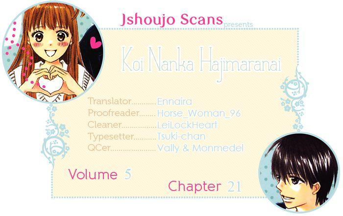Koi Nanka Hajimaranai 21 Page 2