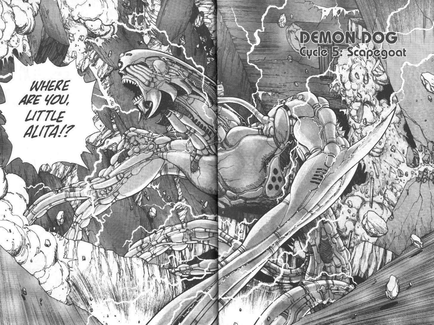 Battle Angel Alita 5 Page 2