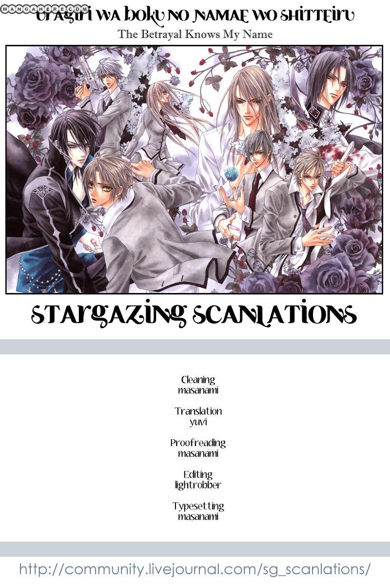 Uragiri wa Boku no Namae wo Shitteiru 21.5 Page 1