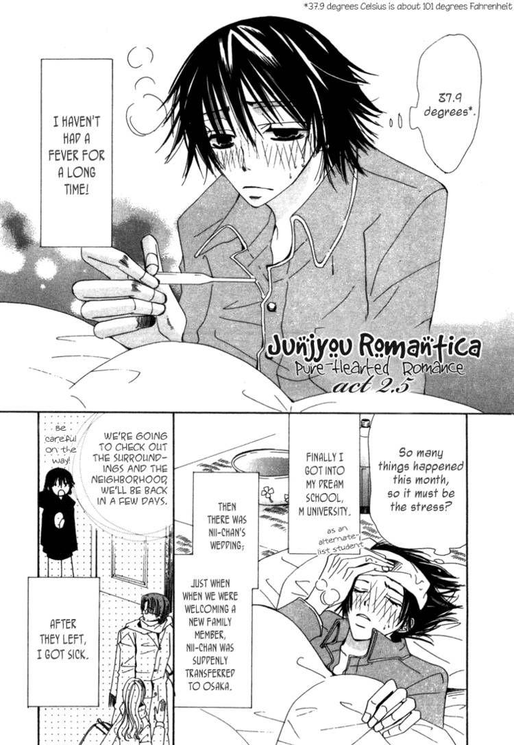 Junjou Romantica 3 Page 1