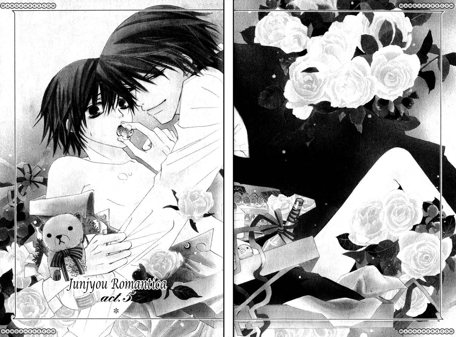 Junjou Romantica 12 Page 1