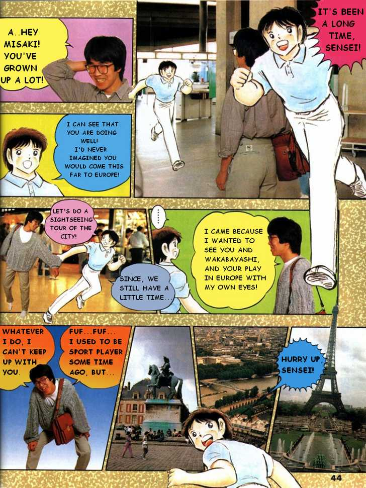Captain Tsubasa Traveling in Europe 0 Page 3