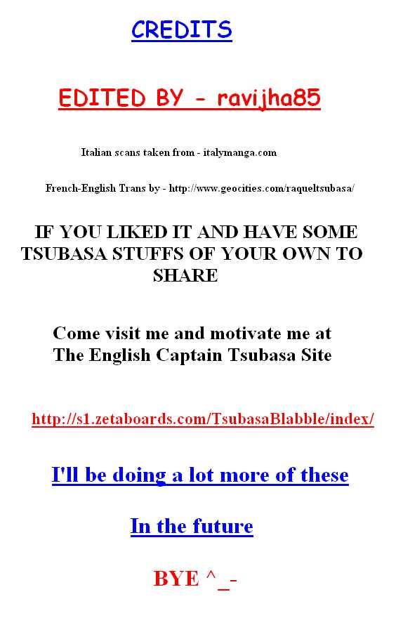 Captain Tsubasa - Pilot Chapter 0 Page 1