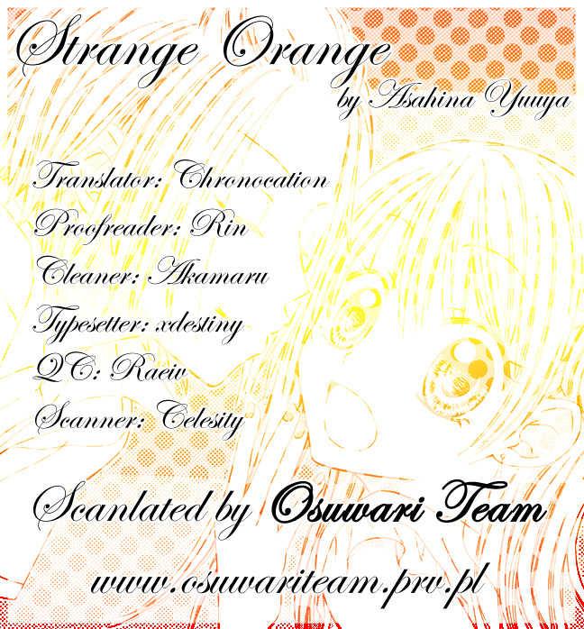 Strange Orange 2 Page 1
