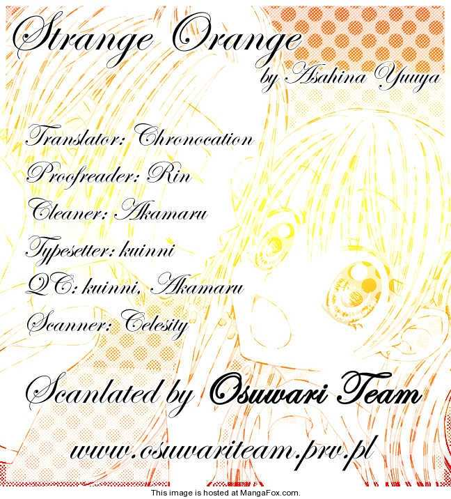 Strange Orange 4 Page 1