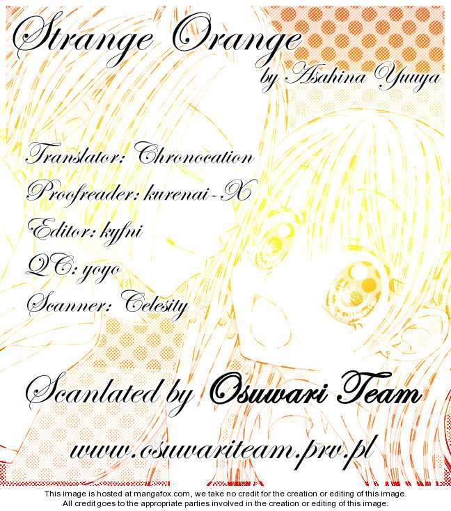 Strange Orange 5 Page 1
