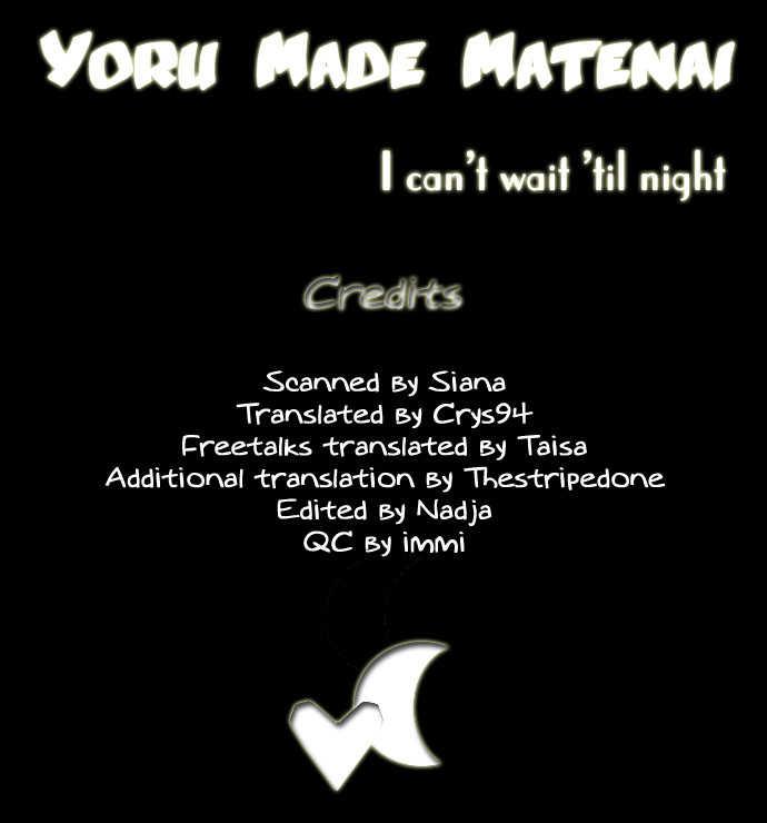 Yoru Made Matenai 1 Page 1