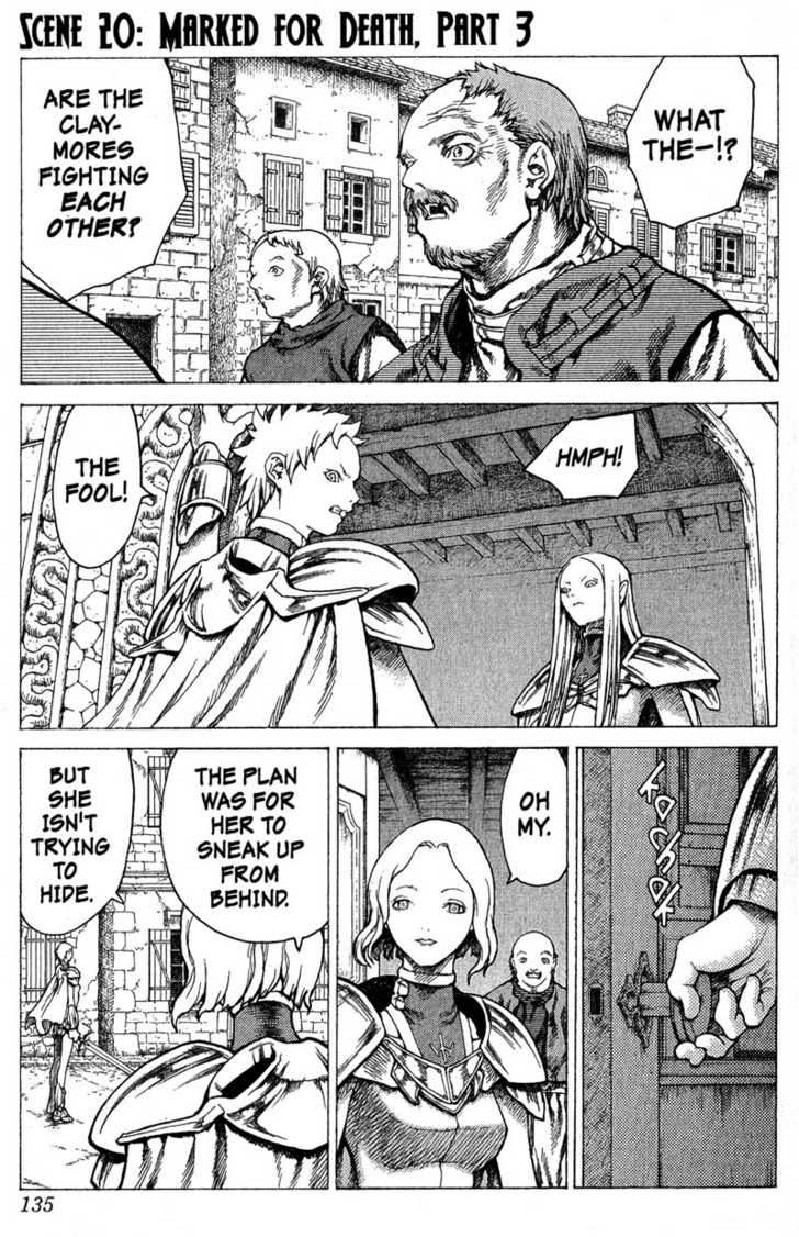 Claymore 20 Page 1