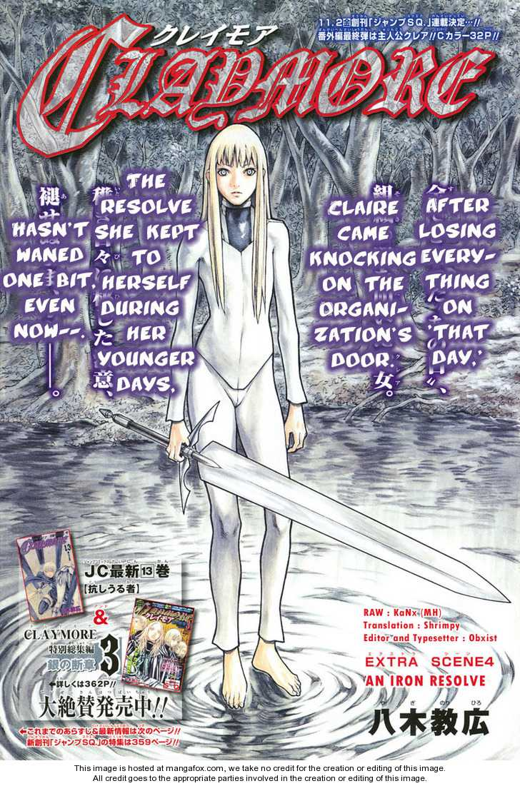 Claymore 77.2 Page 1