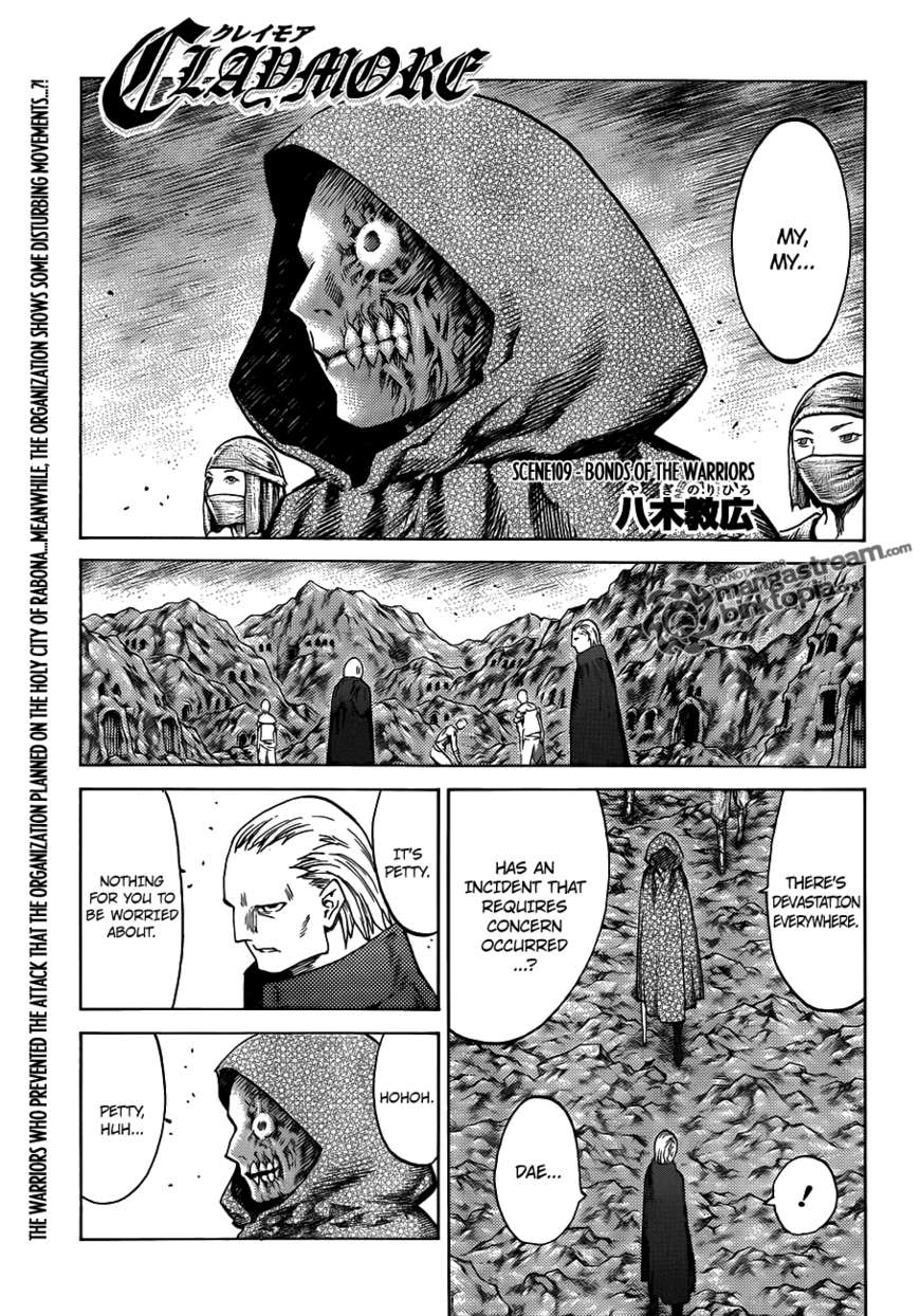 Claymore 109 Page 1