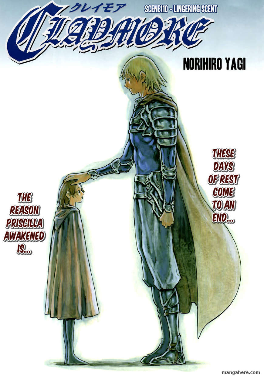 Claymore 110 Page 1