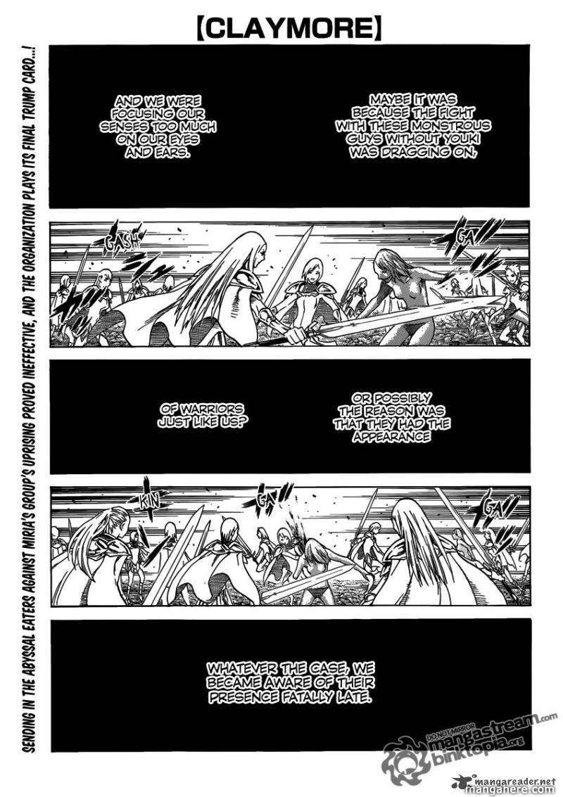 Claymore 116 Page 1
