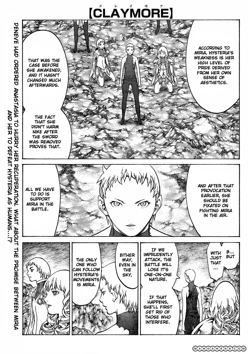 Claymore 124 Page 1