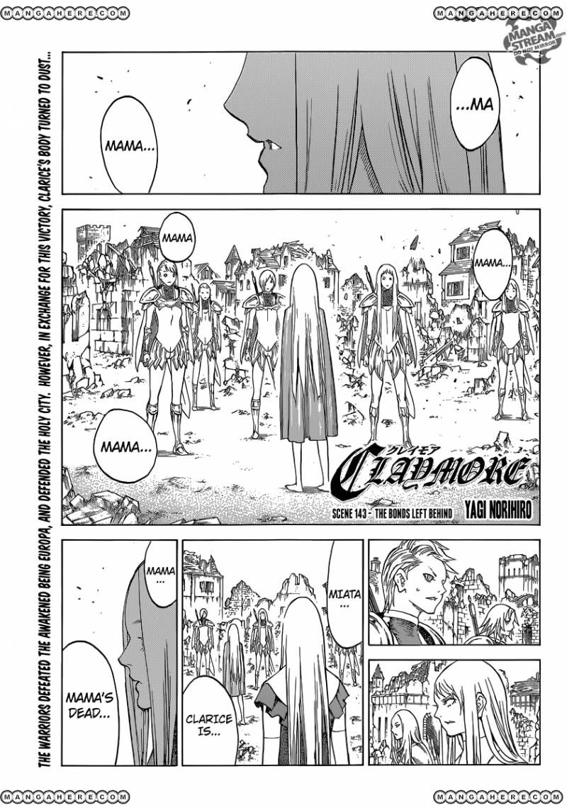 Claymore 143 Page 1