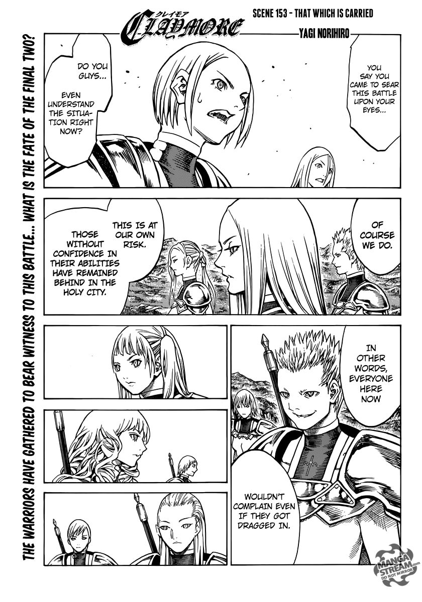 Claymore 153 Page 1