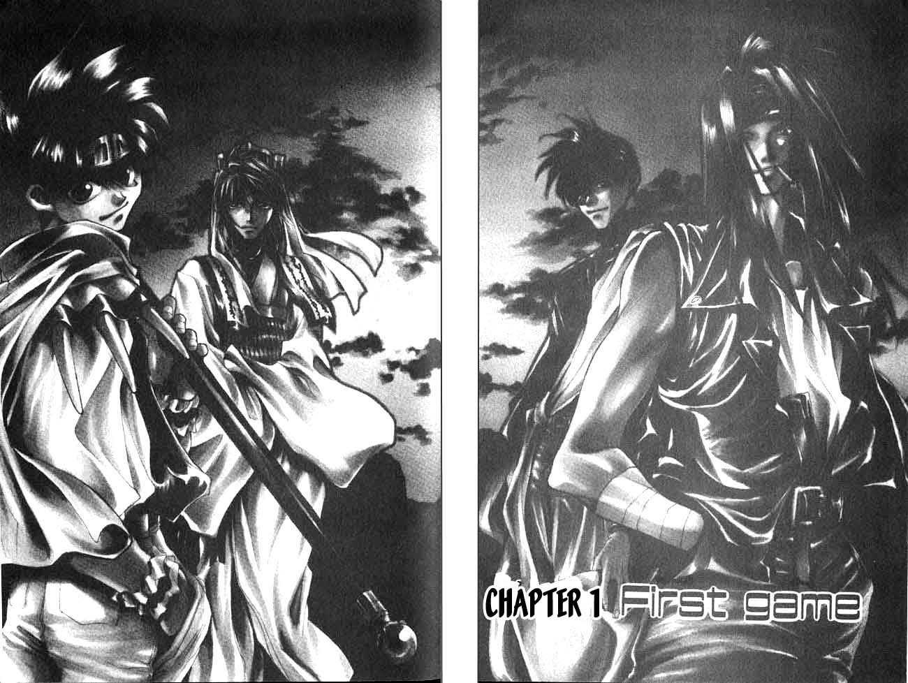 Saiyuki 1 Page 1