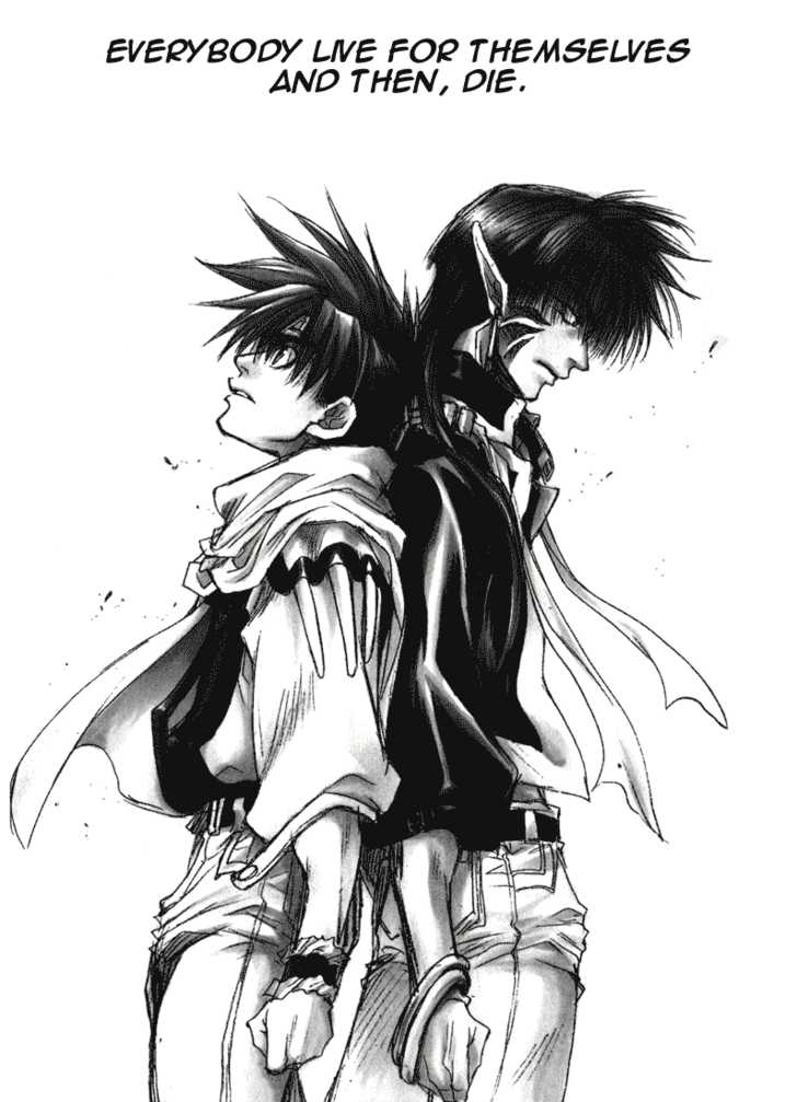 Saiyuki 34 Page 1