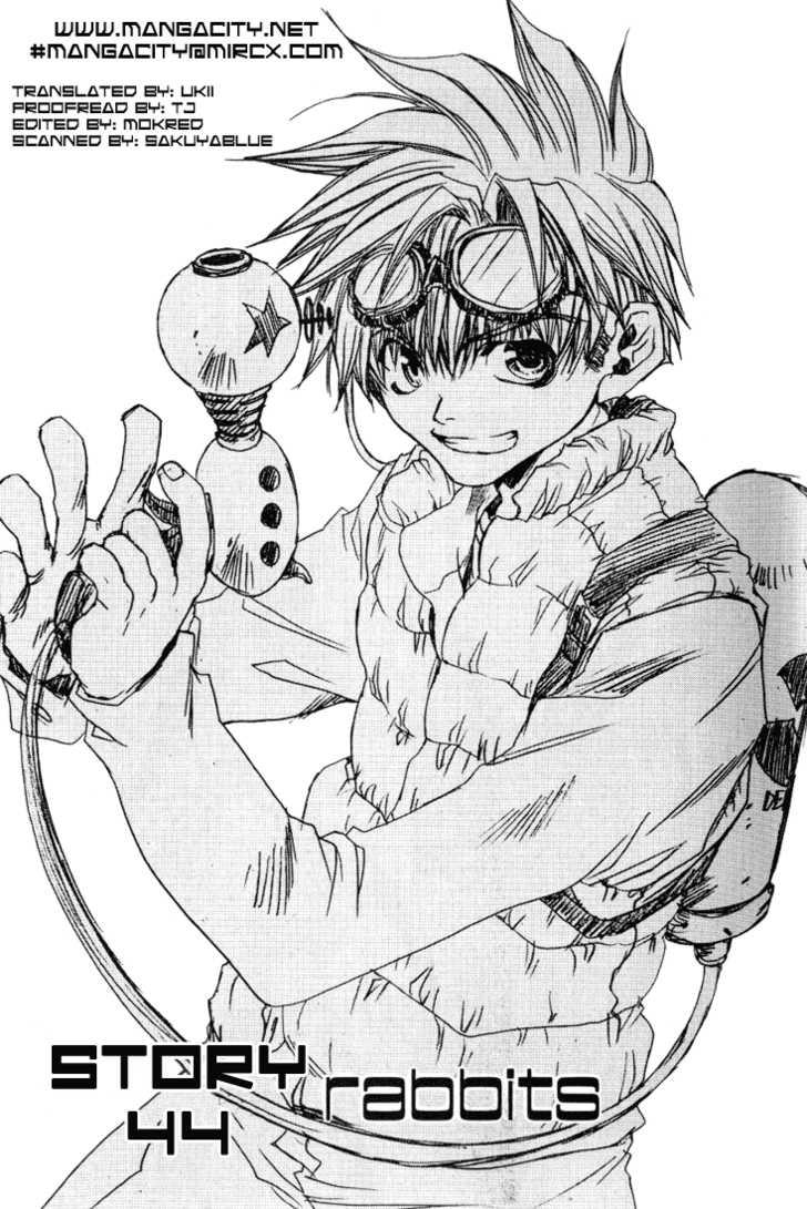 Saiyuki 44 Page 1