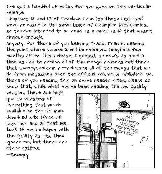 Franken Fran 13 Page 1