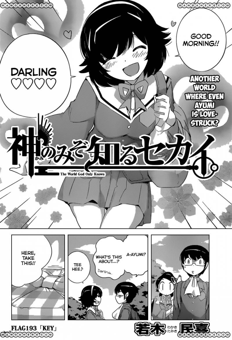 The World God Only Knows 193 Page 2