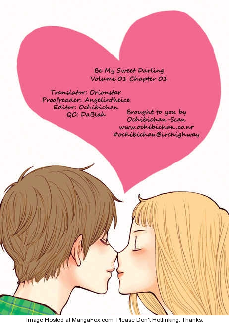 Be My Sweet Darling 1 Page 1