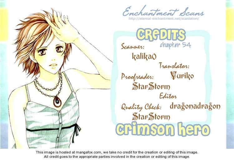 Crimson Hero 54 Page 1