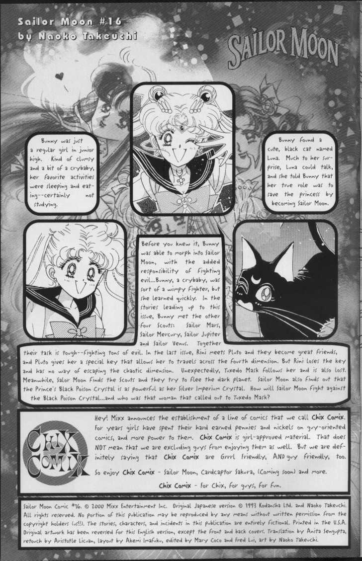 Sailor Moon 2 Page 3