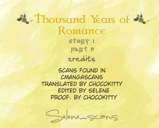 Thousand Years Romance 1.2 Page 1