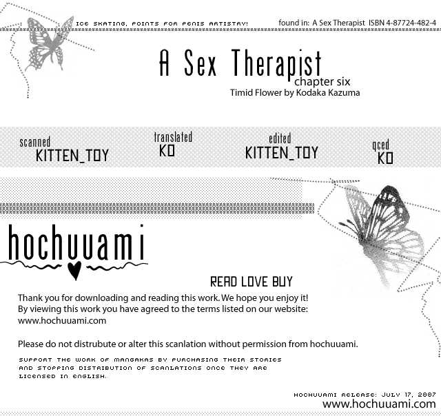Sex Therapist 6 Page 1