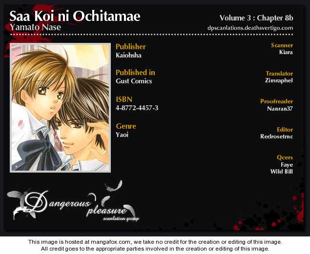 Saa Koi ni Ochitamae 8.2 Page 2
