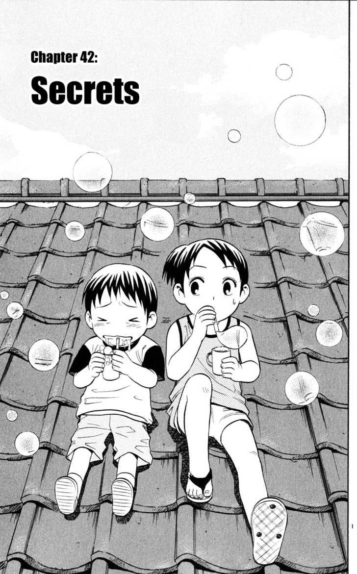 Kekkaishi 42 Page 1