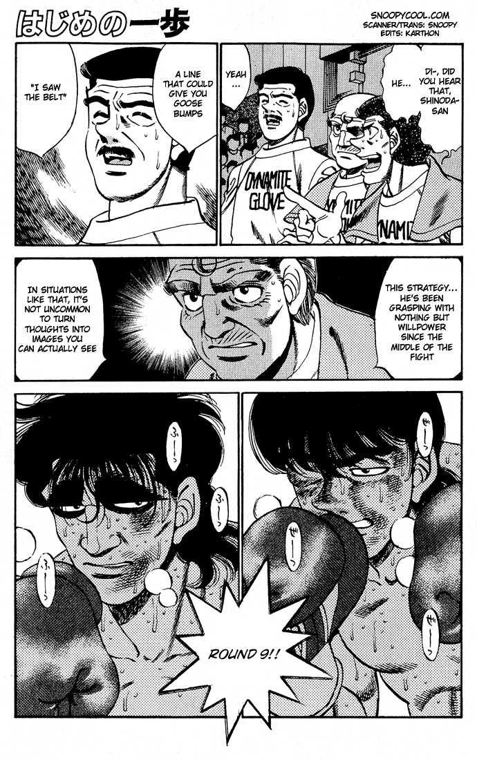 Hajime no Ippo 285 Page 1