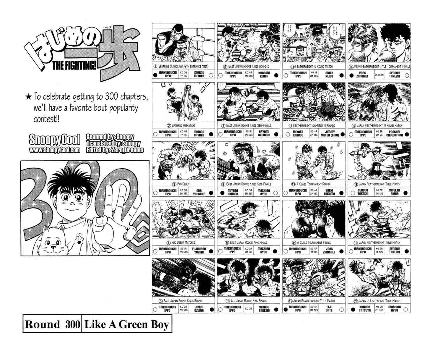 Hajime no Ippo 300 Page 2