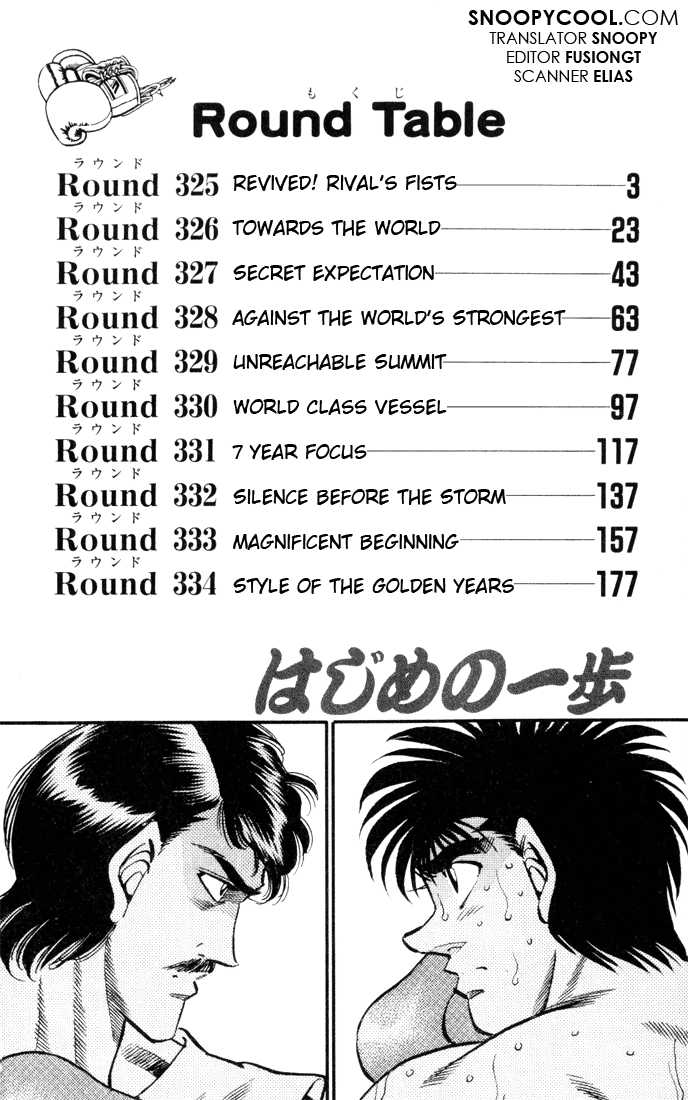 Hajime no Ippo 325 Page 2