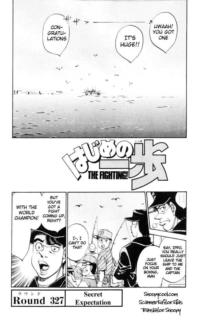 Hajime no Ippo 327 Page 1