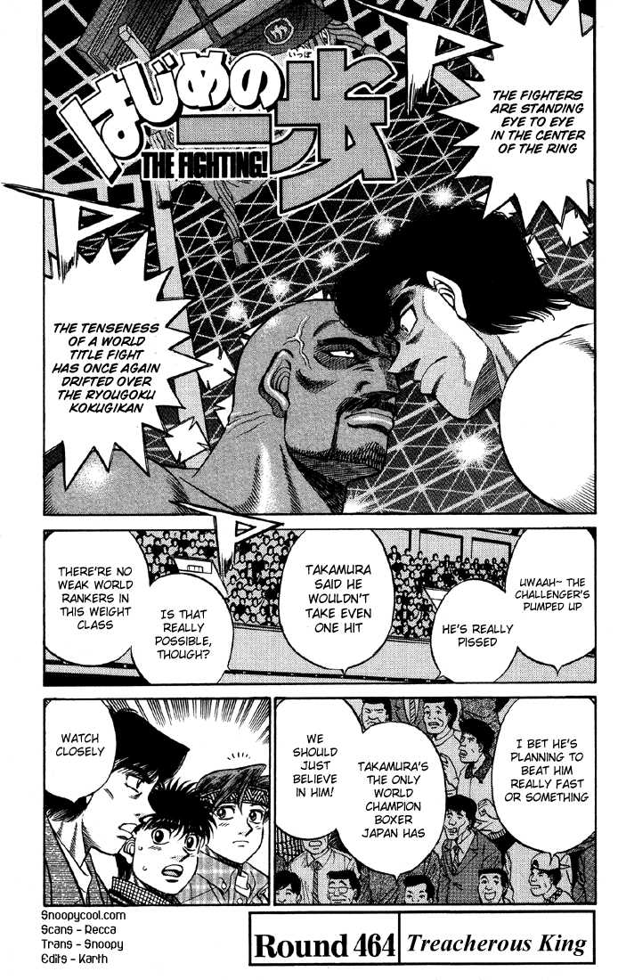 Hajime no Ippo 464 Page 1