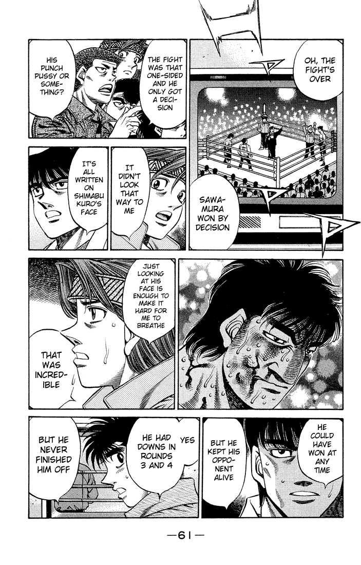 Hajime no Ippo 466 Page 3