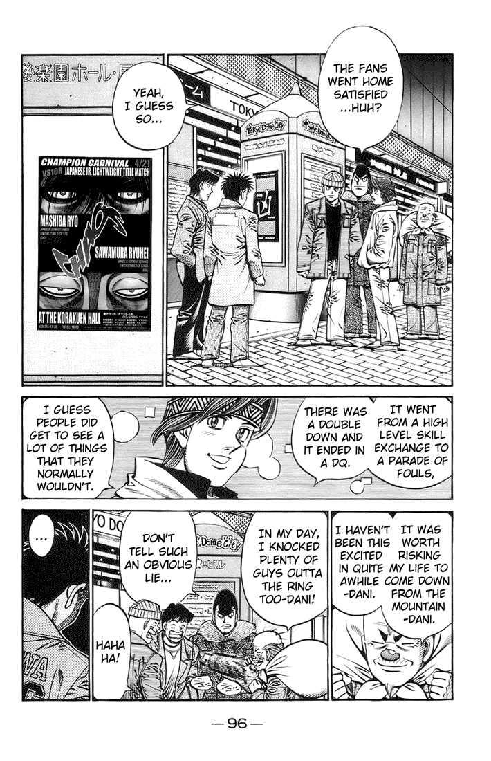 Hajime no Ippo 698 Page 2