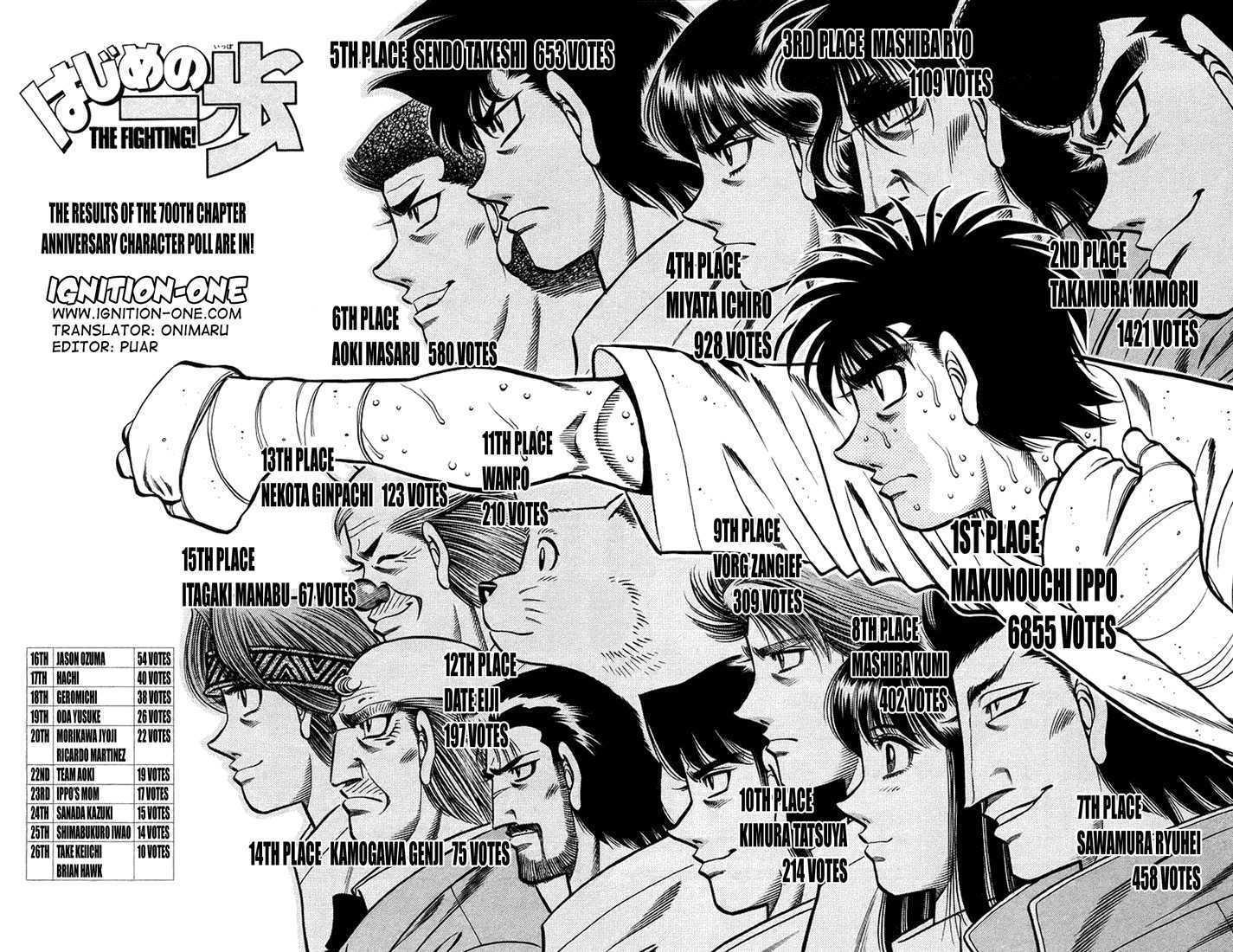 Hajime no Ippo 710 Page 2