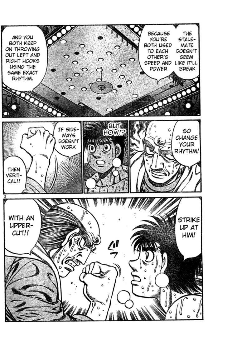 Hajime no Ippo 737 Page 2