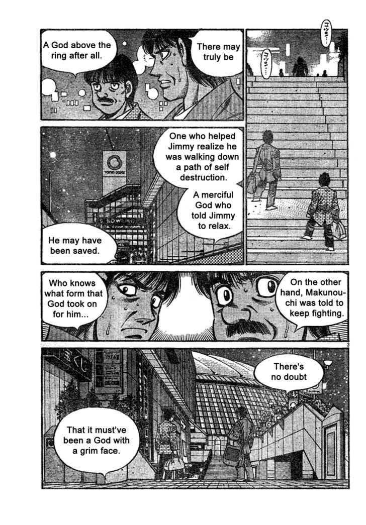 Hajime no Ippo 741 Page 3