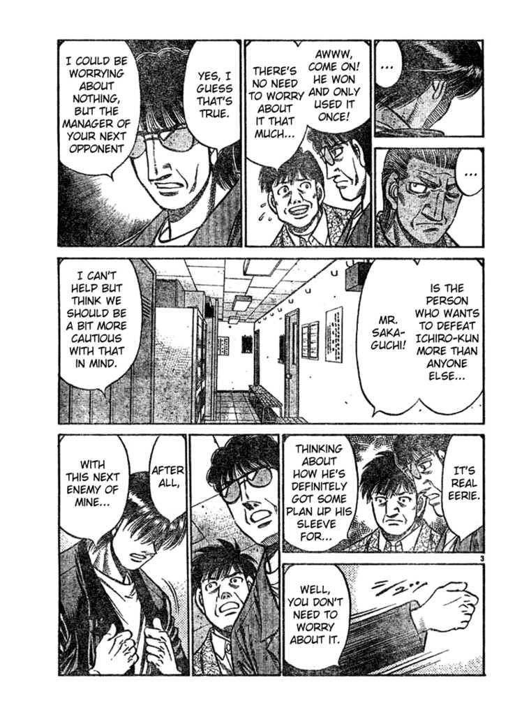 Hajime no Ippo 750 Page 3